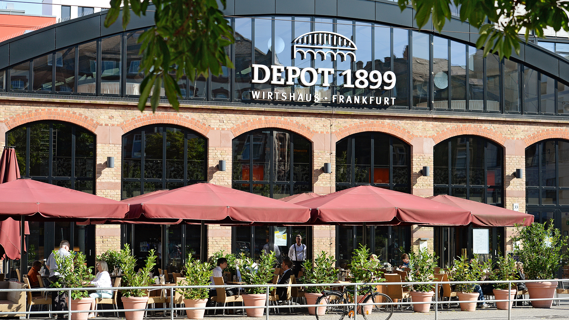 Depot 1899 wedding locations fiylo for Depot offenbach