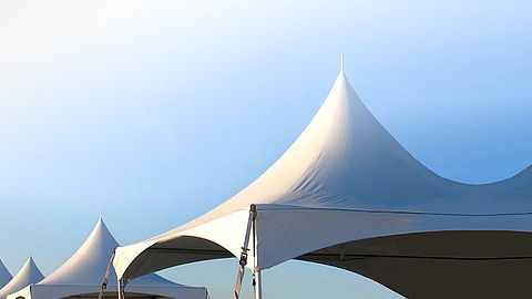 Exclusive tent rental in Hannover